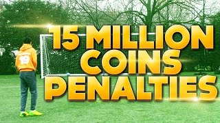 15 MILLION COIN WAGER- IRL PENALTY SHOOTOUT - FIFA 15 Thumbnail