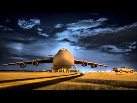 Airplane Sounds - Boeing C-17 Miltary Transport - Ambience - Sleep, Relax, Chill