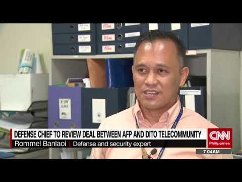 Defense Chief to review deal between AFP and Dito telecommunity