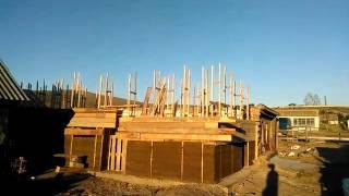 Переселенцы из Германии,  сельская жизнь.  Строим дом. Мотивация.(Опилкобетон. https://www.youtube.com/watch?v=FTPq5dQ4bD4 здесь продолжение видео., 2016-08-21T16:57:36.000Z)
