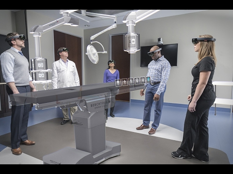 Microsoft HoloLens: Partner Spotlight with Stryker Communications