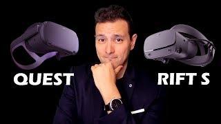 Oculus Quest Oder Rift S: Was Sind Die Unterschiede? Welche VR Brille Ist Besser Für Euch?