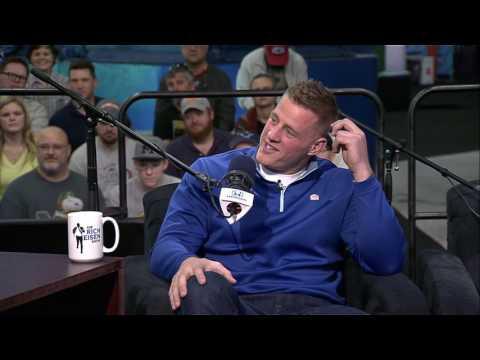 Houston Texans DE JJ Watt Says He Would Haze His Brother in The NFL - 2/2/17
