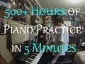Download Complete Beginner Practices the Piano for 500+ Hours (18 Months Progression ) MP3 song and Music Video