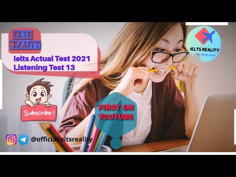 IELTS Listening Actual 2021 Test 13 // Job Enquiry // Ielts Reality