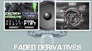 Excision vs Knife Party - Crowd Control Bonfire (BEST REMIX)