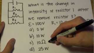 MCAT Question of the Day 1 Physics Circuits