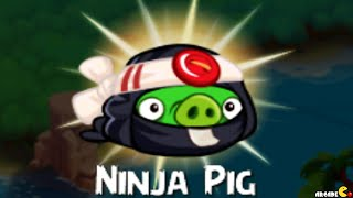 Angry Birds Stella - Unlocked Ninja Pig Walkthrough Part 14