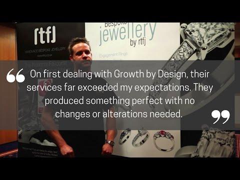 Growth by Design Video Testimonial - RTFJ Bespoke Jewellery