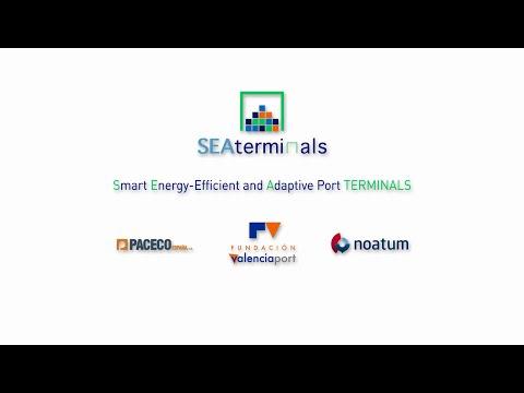 SEA TERMINALS Hybrid Diesel Generator RTG Prototype