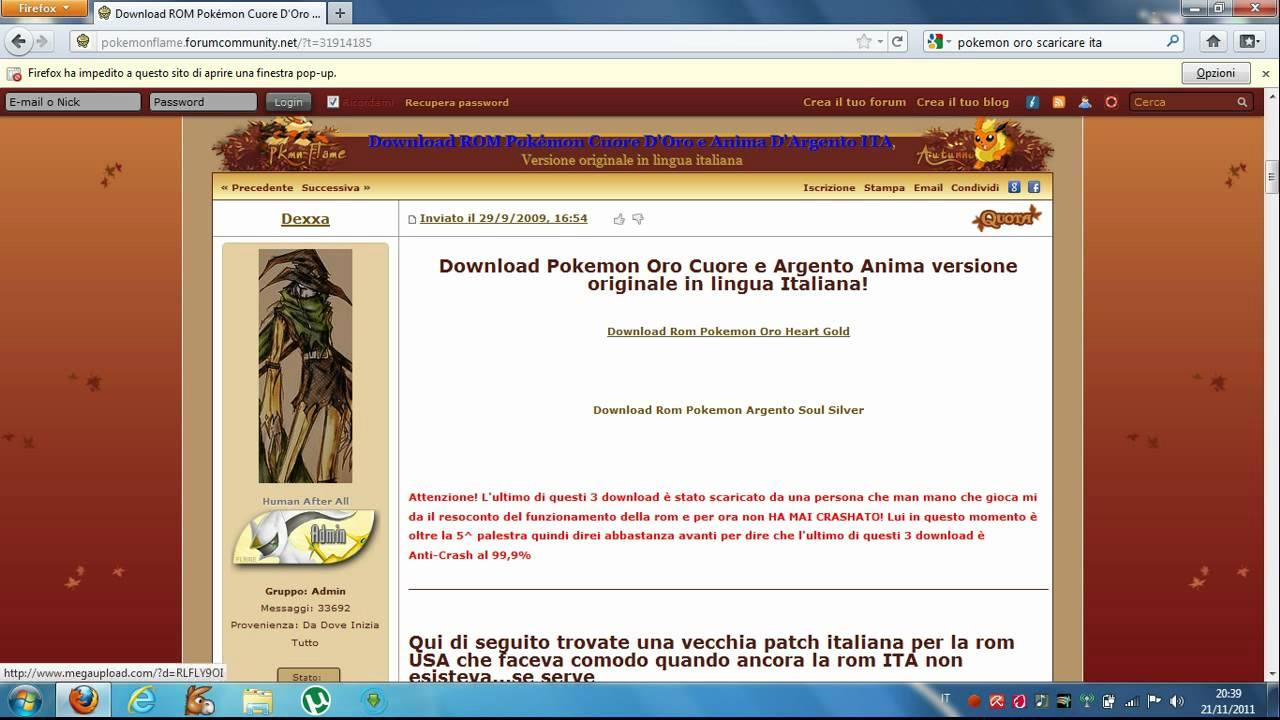 Download rom pokemon oro | Peatix