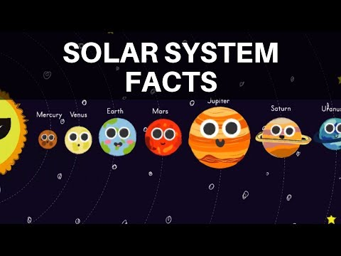Facts about the Solar System - Space Facts for Kids - Lots of Planet Facts for Kids!