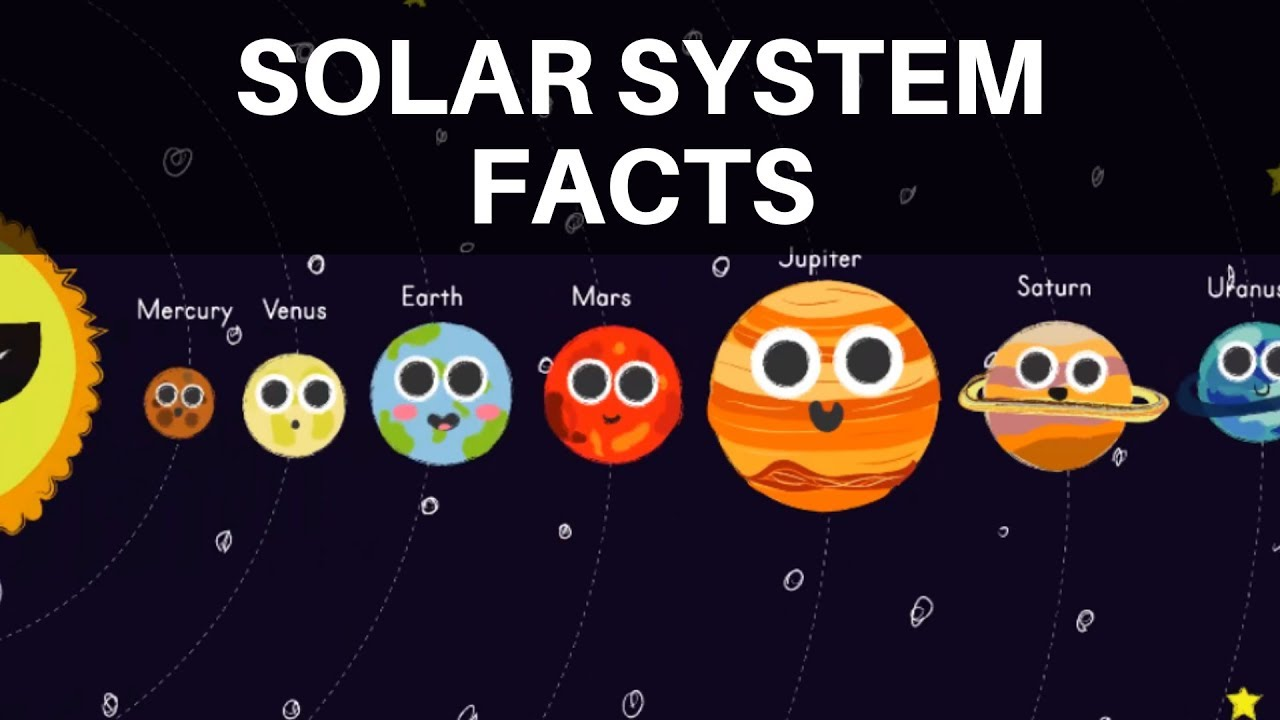 Facts about the Solar System - Space Facts for Kids ...