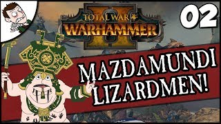 DEALING WITH SKAVEN! Total War Warhammer 2 Mazamundi Lizardmen Campaign Part 2