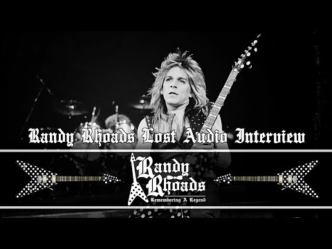 Randy Rhoads: Lost Audio Interview (Ozzy Years)