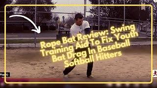 baseball swing drills rope bat shifting foot pressure bat lag hitting aid