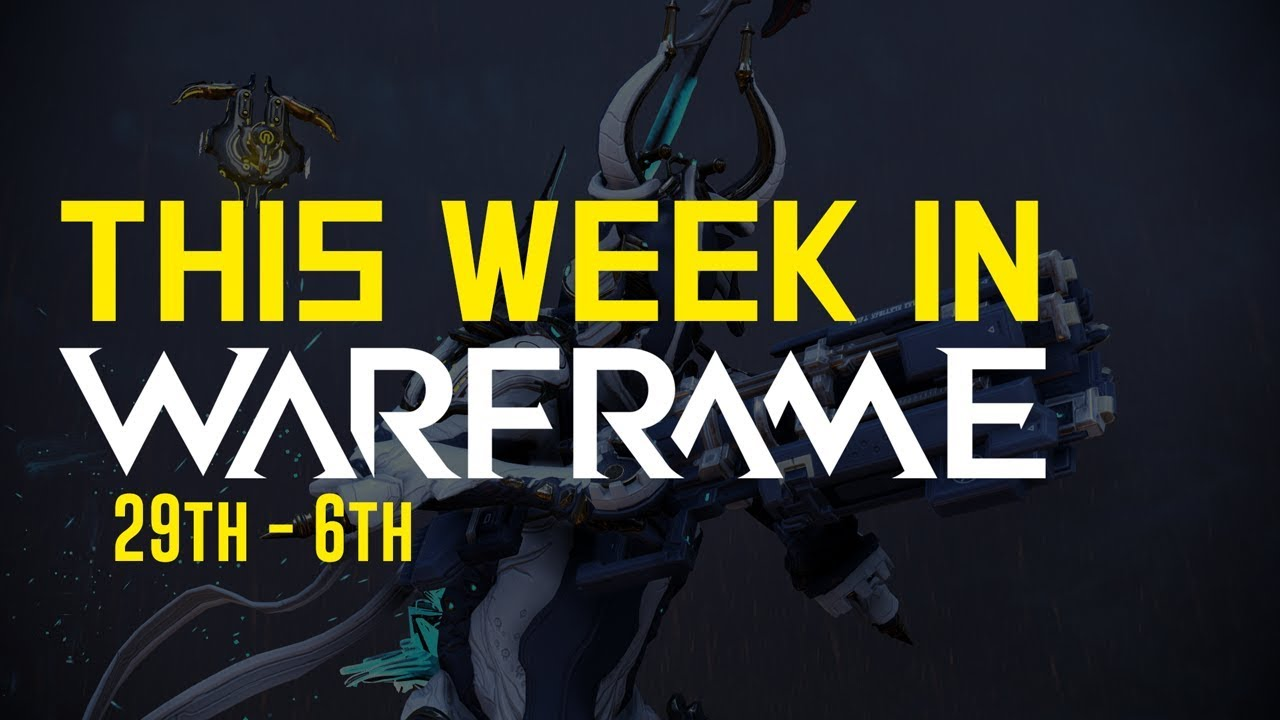 New Music, Tennogen 12, Console In-Cert & Particle System! [This Week In  Warframe 29th - 5th] by Iwoply