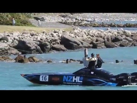 New Zealand Powerboat Racing Napier New Zealand 19 March 2016
