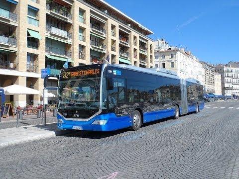 sound bus mercedes citaro gii hybrid n 2501 de la rtm marseille sur les lignes 82 et 82 s. Black Bedroom Furniture Sets. Home Design Ideas