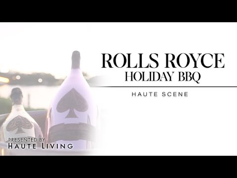 Haute Living and Rolls-Royce Holiday BBQ