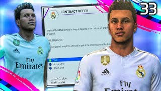 £100,000,000 REAL MADRID SIGNING! | FIFA 19 My Player Career Mode #33