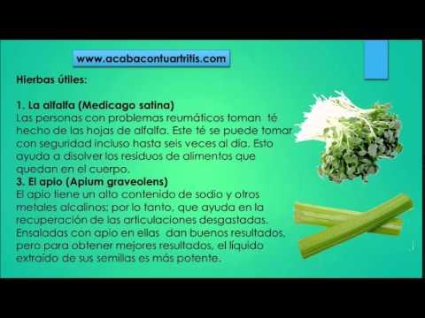 Remedios caseros para reumatismo y artritis