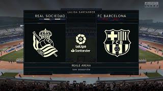 Real Sociedad Vs Barcelona Full Match | La Liga