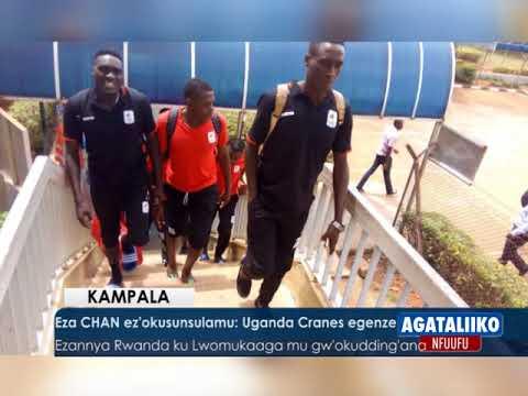 SPORTS: Eza CHAN ez'okusunsulamu,Uganda Cranes egenze