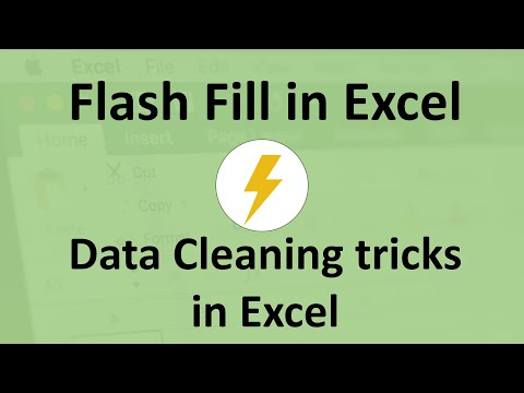 Flash Fill in Excel   Data Cleaning Tricks in Excel