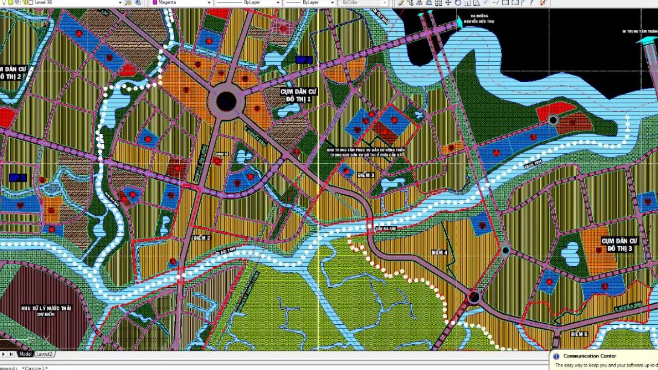 Bản đồ quy hoạch xã Nhơn Đức Nhà Bè