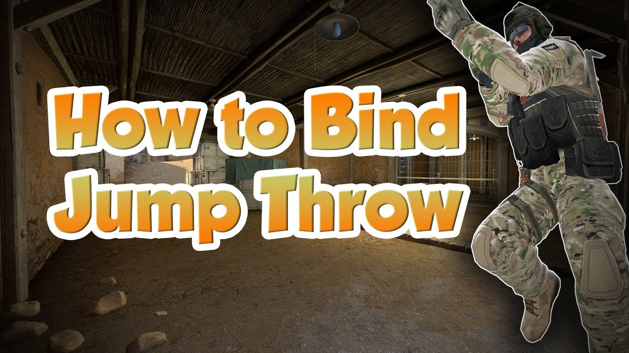 how to bind jump throw