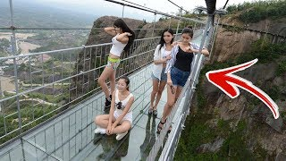 Top 10 SCARIEST Bridges In The WORLD!