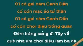 Lambada Que Ta Karaoke - Trần Tiến - CaoCuongPro