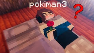 putting my minecraft bed next to Pokimane