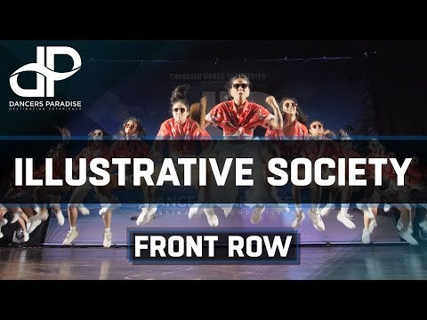 [Showcase] ILLUSTRATIVE SOCIETY | Canada | Dancers Paradise 2019 | [Front Row 4K]