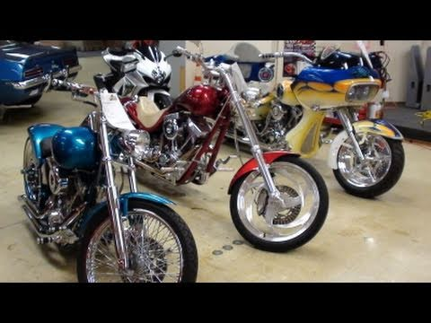 Custom Harley-Davidson Chopper Motorcycles At Gateway Classic Cars