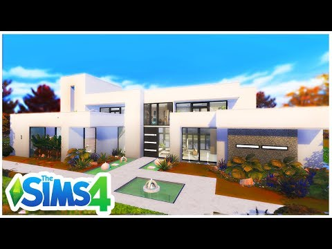 A MODERN MANSION I WOULD LIVE IN | The Sims 4 BUILD