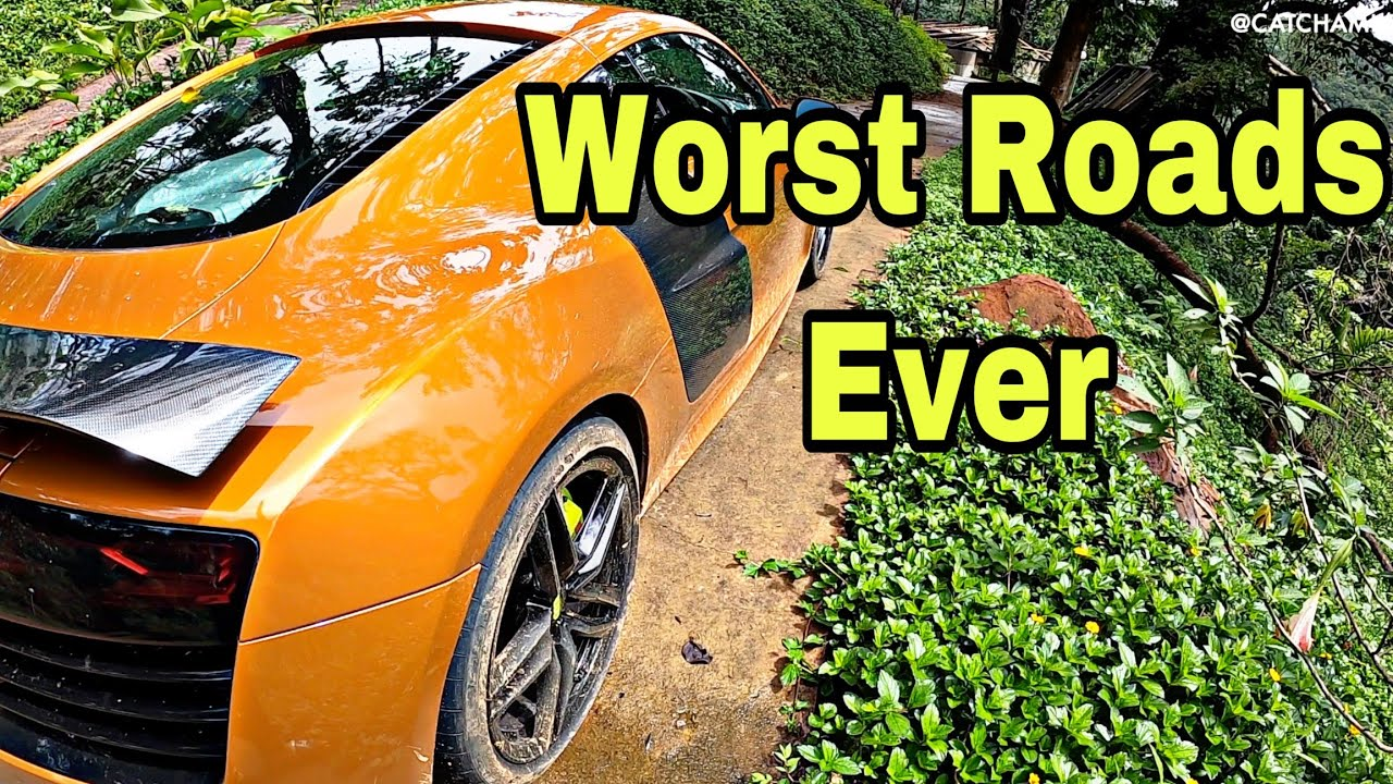 Supercar's Nightmare, Worst Roads to Scotland Of India / Audi R8 V10 / Part 2