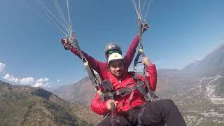 paragliding funny paragliding bhai land kara de
