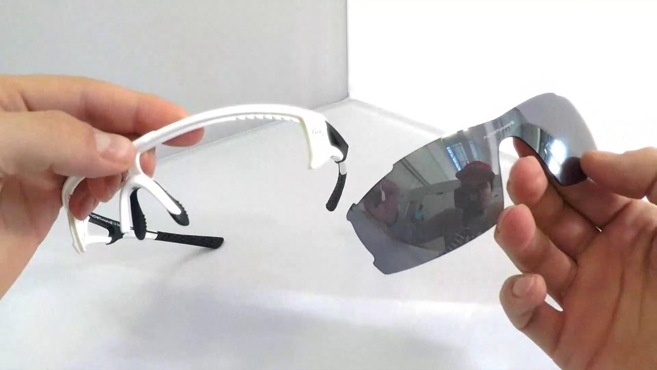 2d4904b01411 Northwave Tour Pro sunglasses lens  replacement - YouTube