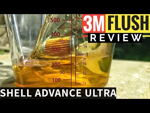 3M ENGINE FLUSH & SHELL ADVANCE ULTRA ON YAMAHA FZ 25 | 3M OIL ENGINE FLUSH REVIEW