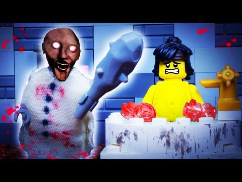 GRANNY LEGO FAT NINJA / HORROR GAME / STOP MOTION ANIMATION