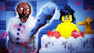 GRANNY LEGO FAT NINJA / HORROR GAME / STOP MOTION ANIMATION
