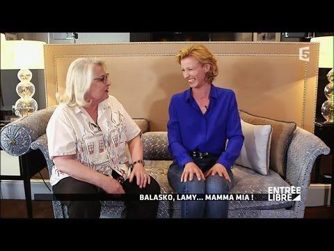 Josiane Balasko et Alexandra Lamy, quelles mères sontelles à l'écran ?  Entrée libre