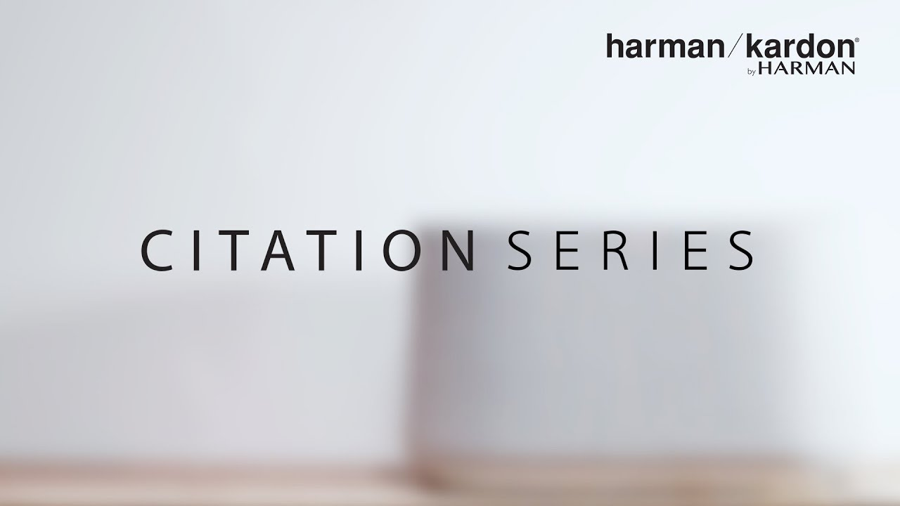 Harman Kardon Citation Series Ifa 2018 Youtube