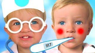 Colección de Canciones Infantiles sobre salud con Katya y Dima