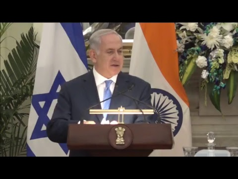 Signing of Agreements & Press Statement: Visit of Prime Minister of Israel to India