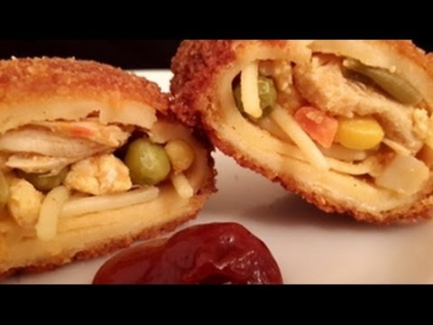 Crispy chinese noodle egg rolls in urduhindi by azra salim youtube forumfinder Choice Image