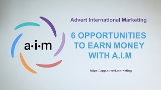 6 ways to earn money online with aim - advert international marketing you want and make a passive income? start making profits a...