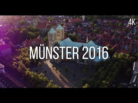 Münster von oben - Sommer 2016 - 4k